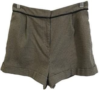 Topshop Tophop Beige Shorts for Women