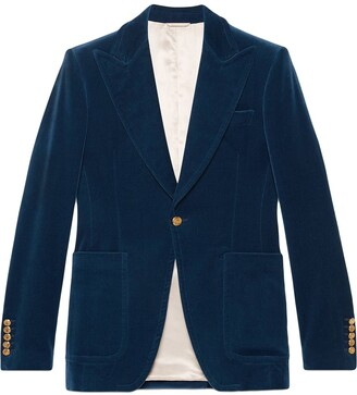 Gucci Velvet formal jacket
