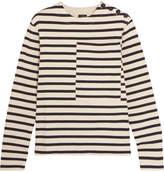 Joseph Breton Striped Cotton-jersey Sweatshirt - Cream