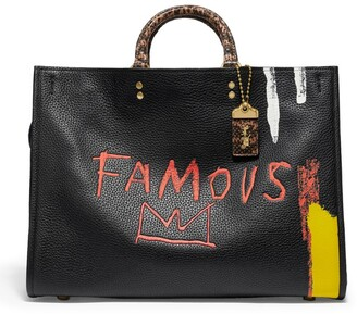 Coach + Basquiat Leather Rogue 39 Top-Handle Bag