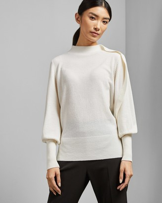Ted Baker MAYREI Sculptural sleeve jumper