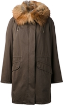 Yves Salomon Classic Fox Fur Parka