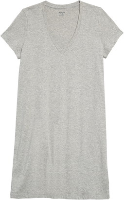Madewell Northside V-Neck T-Shirt Dress