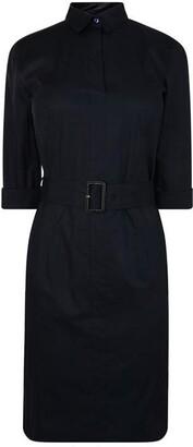 HUGO BOSS Belted Shirt Dress
