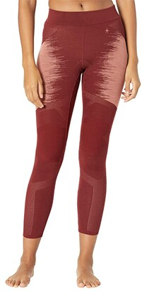 Smartwool Intraknit Merino 200 Pattern Bottoms (Oxblood Polar Arctic) Women's Casual Pants