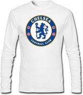 John Deirdre Men Chelsea FC Football Club Tshirt Long Sleeve