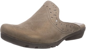 Marc Shoes Womens 1.624.26-21/260-Zarah Clogs Gray Grau (Taupe 260) Size: 3