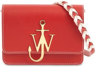 J.W.Anderson Anchor Logo Leather Bag W/braided Strap