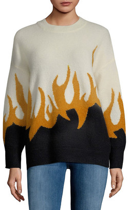 Wildfox Couture Color-Blocked Sweater
