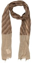 Bonpoint Girls' Patterned Knit Scarf w/ Tags