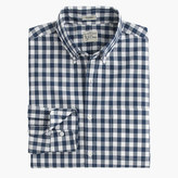 J.Crew Slim Secret Wash shirt in faded gingham