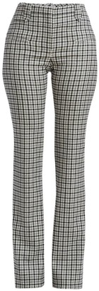 Altuzarra Serge Plaid Trousers