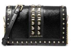 MICHAEL Michael Kors Jet Set Crystal Studded Leather Crossbody Bag