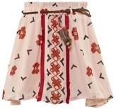 Scotch R'Belle Pale Pink Aztec Print Skirt