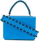 Emilio Pucci braided detail shoulder bag