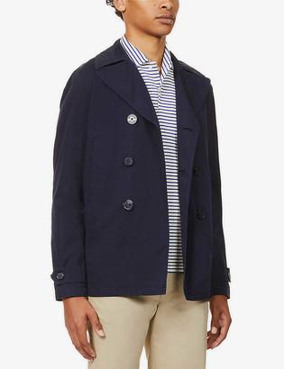 Orlebar Brown Halbert double-breasted cotton-poplin jacket