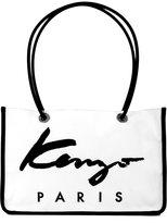 Kenzo shopping bag - women - Cotton/Calf Leather/Nylon - One Size