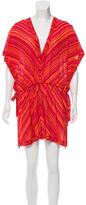 Missoni Striped Swim Cover-Up Dress