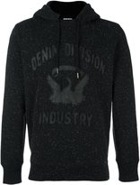 Diesel 'Joe' hoodie - men - Cotton/Sheep Skin/Shearling/Polyester - M