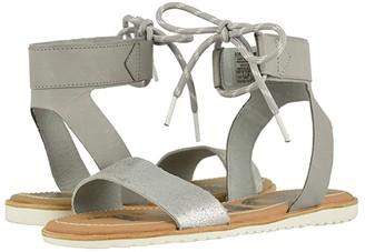 Sorel Ellatm Ankle Lace (Dove) Women's Shoes