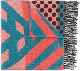 Henrik Vibskov multi patterned scarf