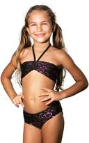 Hello Kitty Faces Bandeau Bikini - Little Girl (10/12, )