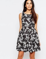 Wal G Skater Dress In Floral Print