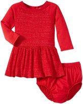 Splendid Loose Knit Dress (Baby) - Red-3-6 Months
