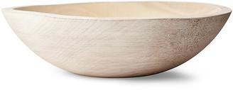 """Peasant Bowl - White - Farmhouse Pottery - 12"""""""