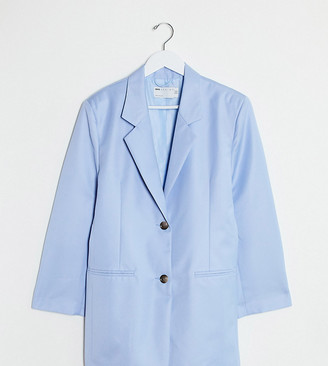 Asos DESIGN Petite extreme dad suit blazer