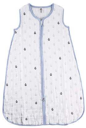 Hudson Baby Muslin Wearable Safe Sleeping Bag Blanket, Sailboat, 0-24 Months