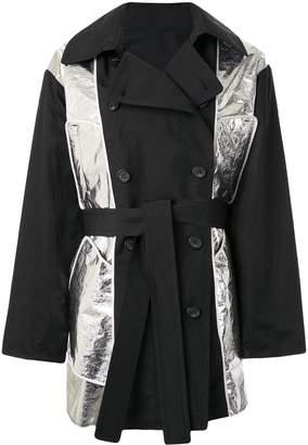 No.21 Zip-off panel trench coat