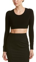 Norma Kamali Cropped Top.