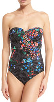Gottex Gypsy Queen Bandeau One-Piece Swimsuit