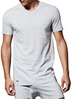 Lacoste Essentials Cotton V-Neck Tee- Pack of 3