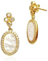 Freida Rothman Mother-Of-Pearl Drop Earring