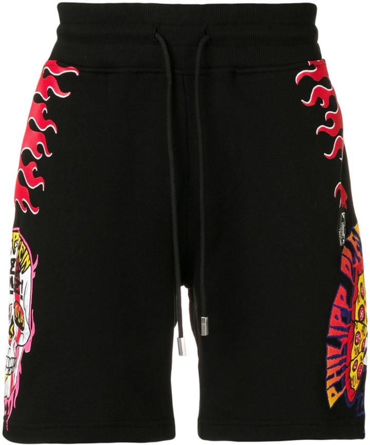 Philipp Plein Pizza Boys shorts
