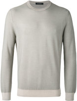 Ermenegildo Zegna crew-neck jumper - men - Silk/Wool - 50