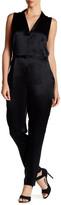 Equipment Adalyn Sleeveless Silk Jumpsuit