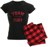 CafePress - Team Toby - Pretty Little Liars Women's Dark Pajam - Womens Novelty Cotton Pajama Set, Comfortable PJ Sleepwear