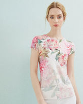 Ted Baker Painted Posie fitted Tshirt