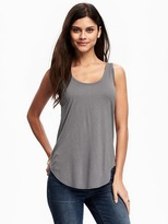 Old Navy Relaxed Curved-Hem Scoop-Neck Tank for Women