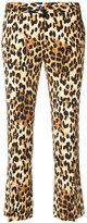 Alberto Biani leopard print trousers