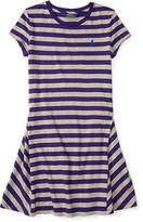 Ralph Lauren Striped Jersey Tee Dress