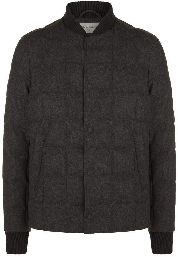 Officine Generale Quilted Bomber Jacket