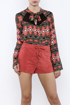 MinkPink Moroccan Dream Blouse