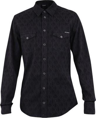 Dolce & Gabbana Patterned Slim Fit Shirt