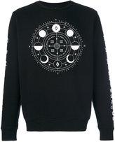 Marcelo Burlon County of Milan Menel crewneck sweatshirt