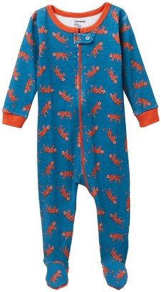 Leveret Tiger Footed Pajama Sleeper (Baby Boys & Toddler)