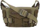 DSQUARED2 Military shoulder bag - women - Cotton/Linen/Flax/Calf Leather - One Size